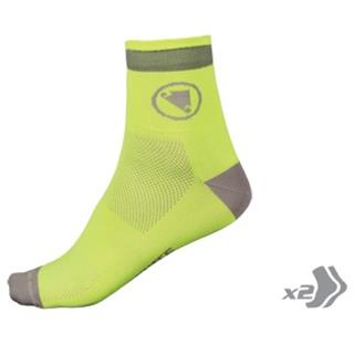 Endura nogavice Luminite Sock fluo rumena (2 para)